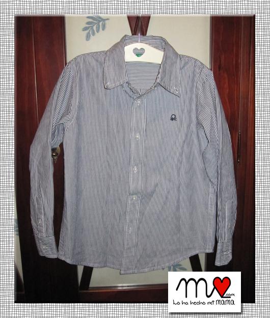 camisa antes