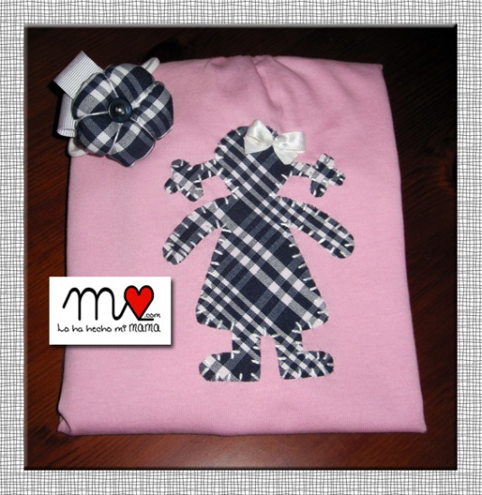 Camiseta Carmen rosa-fallera 2