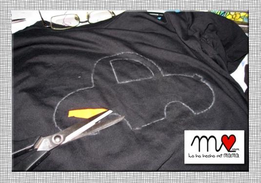 DIY camiseta negra 04