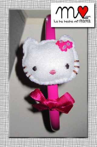 diadema Kitty rosa