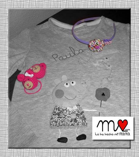 Camiseta Pepa Pig y coplementos