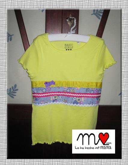 camisetas verano 2014 amarilla