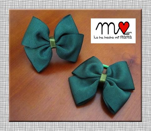 lazos verdes uniforme