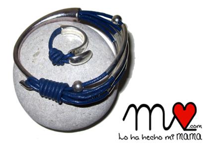 2014 conjunto azul y metal